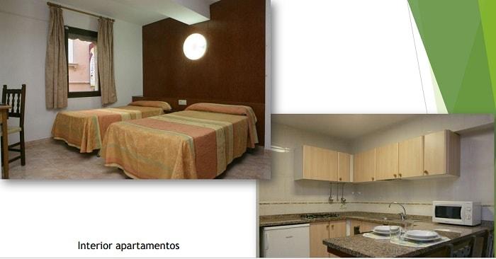 kaufen rentabler Touristenapartment komplex Spanien Zimmer