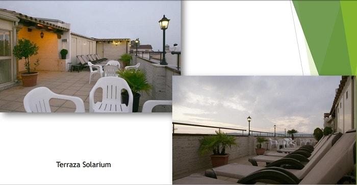 kaufen rentabler Touristenapartment komplex Spanien Terrasse