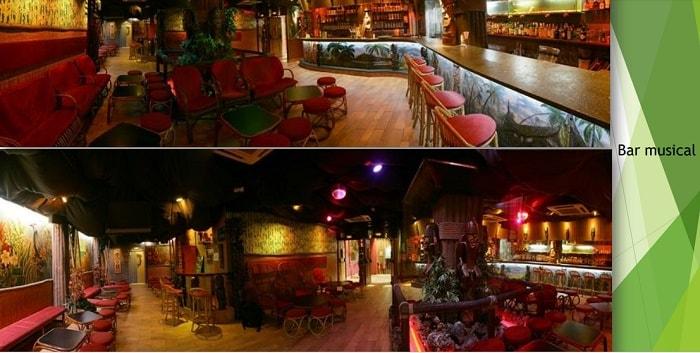 kaufen rentabler Touristenapartment komplex Spanien Restaurant