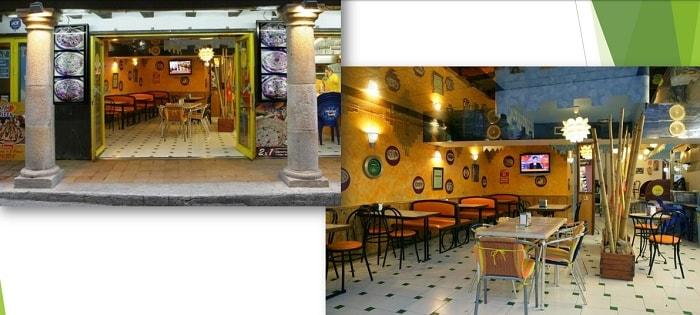 kaufen rentabler Touristenapartment komplex Spanien Bar 1