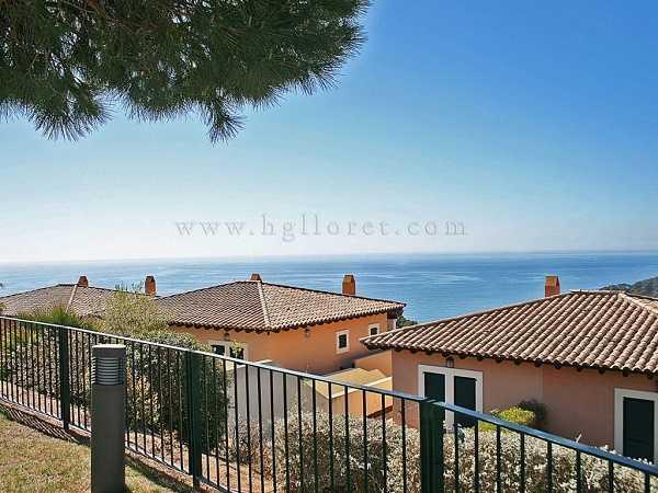 Townhaus Tossa de Mar Costa Brava Spanien Ausblick Meer