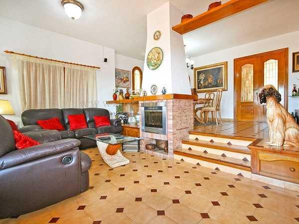 kaufen Haus Blick Meer Gebirge Canyelles Spanien
