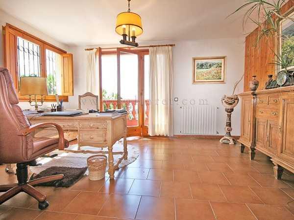 kaufen Haus Blick Meer Gebirge Canyelles Kabinett