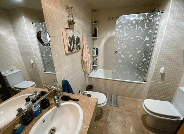 квартира с парковкой одна спальня Льорет-де-Мар ванна