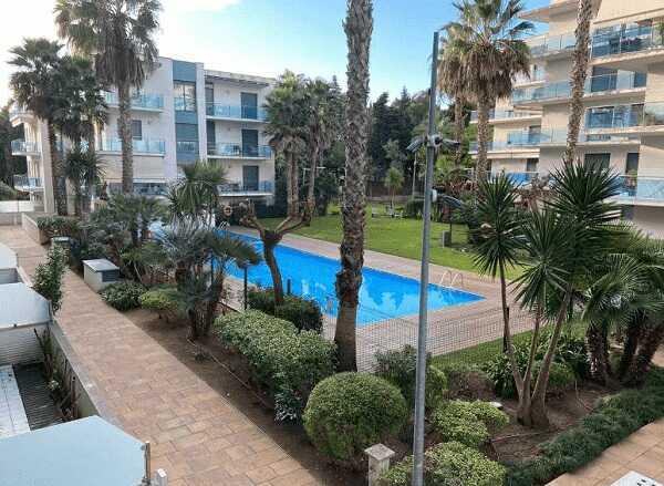Двухкомнатная квартира Льорет-де-Мар с парковкой бассейном