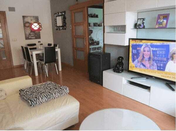 квартира с парковкой Коста Брава Льорет-де-Мар гостинная