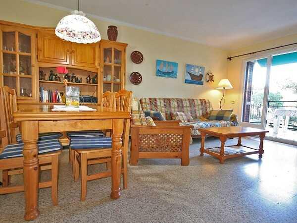 купить квартиру в Кала Каньелес Льорет де Мар две спальни