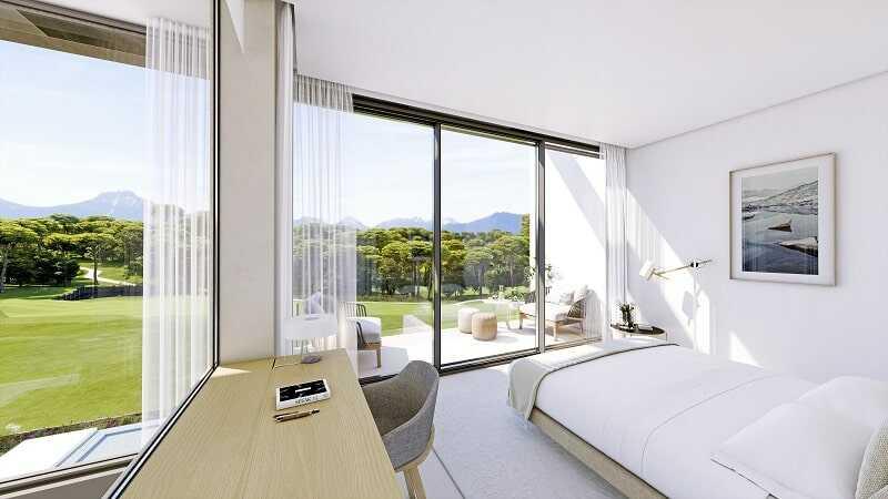 Роскошная вилла гольф курорт Коста Брава спальня