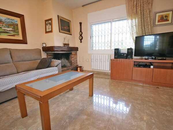 mieten Villa mit Pool Strandnahe Spanien Wohnzimmer 2